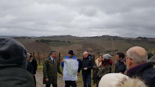 1. Nelle vigne di Fontodi