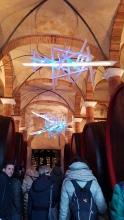 11. installazioni d'arte in cantina a Felsina